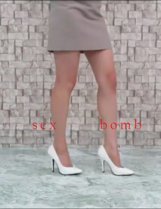 SEXY schuhe decolte bianche scollo a V TACCO spillo 13 DAL num. 35 AL 46 GLAMOUR