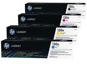 Genuine-HP-130A-CMYK-BundleToner-Cartridges-for-HP-LaserJet-Pro-M176n-M177fw