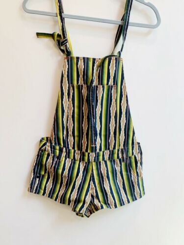 Green Overall Shorts