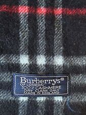Echarpe burberrys 100% Cachemire TBE