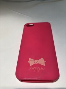 c74b87f85 Image is loading Ted-Baker-Pink-Bow-Silicone-IPhone-4s-Phone-