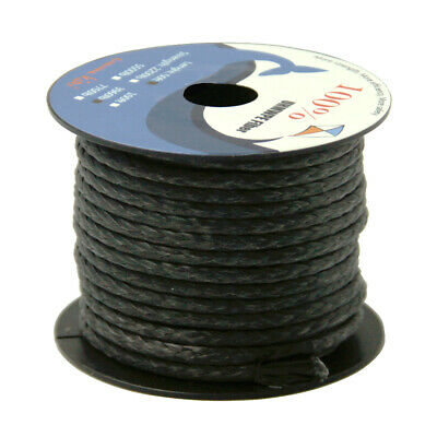 600lb 100ft Braided Line 100/% UHMWPE for Kite Surfing Fishing Tactical Camping