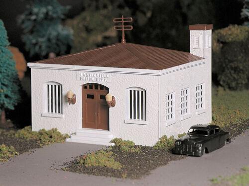 Bachmann O Scale Train Building Police Station W//Police Car 45609