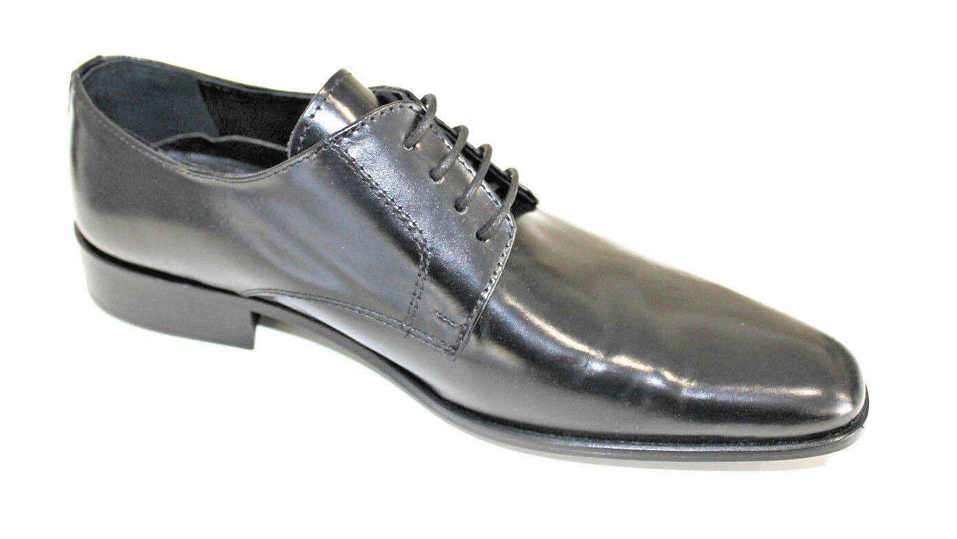 fabbrica diretta Scarpe cerimonia uomo NERO francesine sposo cuoio made  scarpe scarpe scarpe laether man  la migliore offerta del negozio online