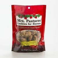 Mrs. Pastures Cookies Horse Pony All Natural Treats Snacks Resealable Bag 8 Oz