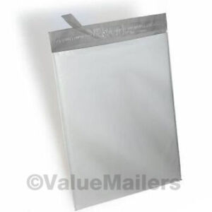 100-12x15-5-POLY-MAILERS-ENVELOPES-SHIPPING-2-Mil-SELF-SEAL-BAGS-12-x-15-5