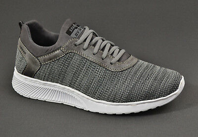 Rieker Herren Stoff Sommer Sneaker comfort Schuhe B5051 grau bPVkC