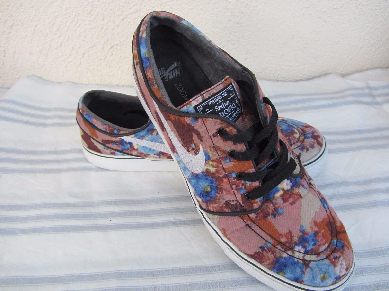 Hombre Nike tamaño Stefan Janoski floral Camo Athletic zapatos tenis tamaño Nike 10 gran descuento 8859a9