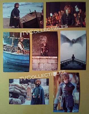 4x6 Postcard Lot Game Of Thrones Peter Dinklage As Tyrion Lannister Ebay