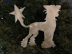 Bichon Frise Christmas Decor Holiday Wreath Decor Handmade Dog Tree Topper
