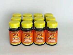 BioAstin-Hawaiian-Astaxanthin-Nutrex-Hawaii-12-mg-25-Cap-12x-BOTTLES-300-Caps
