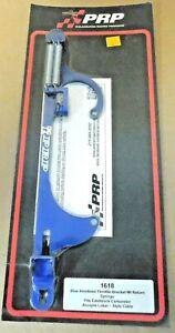 PRP-1618-Throttle-Return-Bracket-Fits-Holley-Edelbrock-4150-Carbs-W-Lokar-Cable