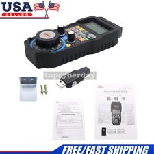 Cnc Mach3 Wireless Electronic Handwheel 4 Axis Manual Control Usb Handle Mpg Usa