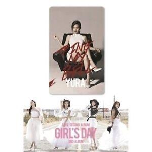 Girl-039-s-Day-Love-2nd-Album-Yura-Ver-Kihno-SMC-Karte-Kit-Broschure-K-POP-Sealed