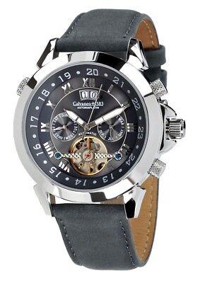 """Gewidmet Sk Shop 1.290 € · Calvaneo 1583 Wildleather Platin """"astonia Greyhound"""" Automatik Armband- & Taschenuhren"""