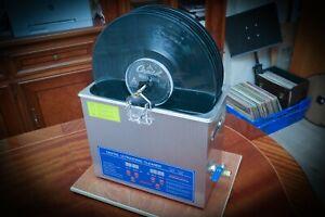 Vinyl-Record-Cleaner-LP-Rondelle-machine-de-nettoyage-6-enregistrements-par-lot-UK-Made