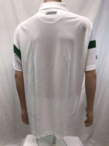 size XS-4XL NWT Lacoste Sports color Stripes Men/'s Polo Shirt color varies