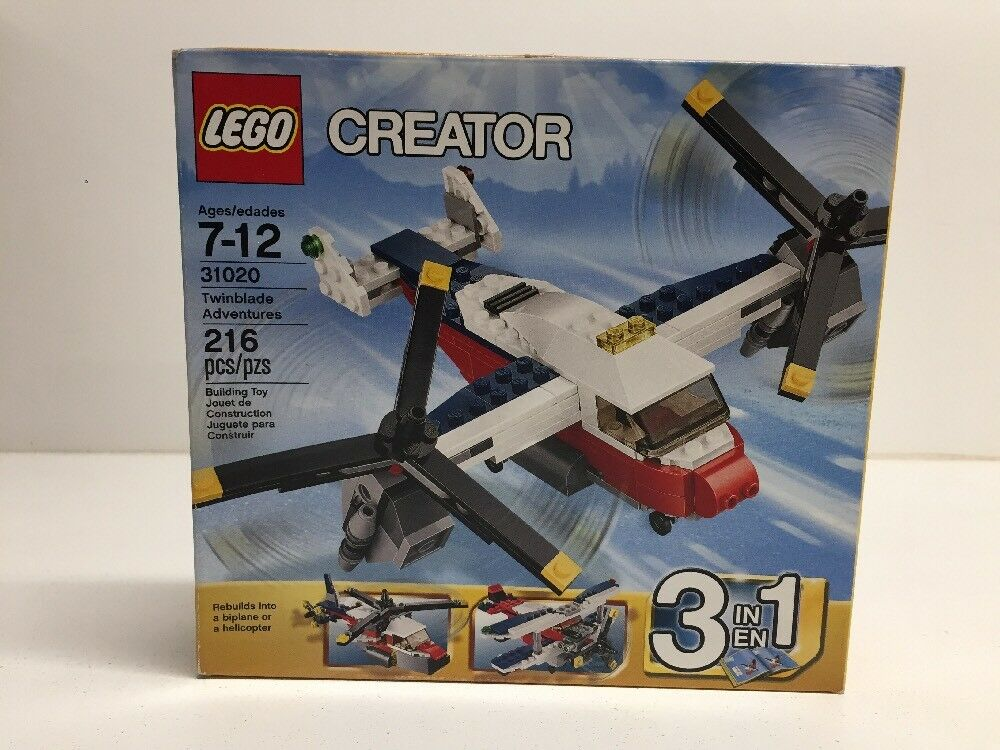 NEW NIB LEGO Creator 31020 Twinblade Adventures Sealed NISB NIB