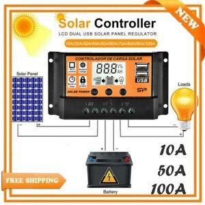 100A-LCD-Solar-Panel-Battery-Regulator-Charge-Controller-Dual-USB-12V-24V-MPPT