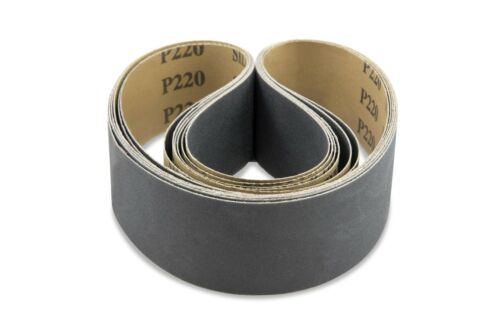 1 X 42 Inch 220 Grit Silicon Carbide Sanding Belts 12 Pack