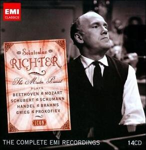 Sviatoslav Richter: The Master Pianist [The Complete EMI Recordings] [Box...