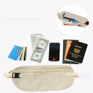 Hidden-Security-Money-Passport-Card-Ticket-Waist-Belt-Bag-Pocket-Travel-Wallet