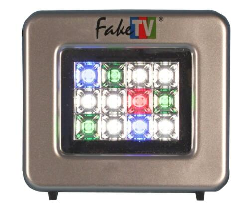 FakeTV FTV-11-US Extra Bright Burglar Deterrent w// Timer Home Security System