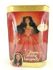 Mattel-Barbie-2000-Singing-Holiday-Brandy-27779-Damaged-Box-Brandy-Norwood-NIB