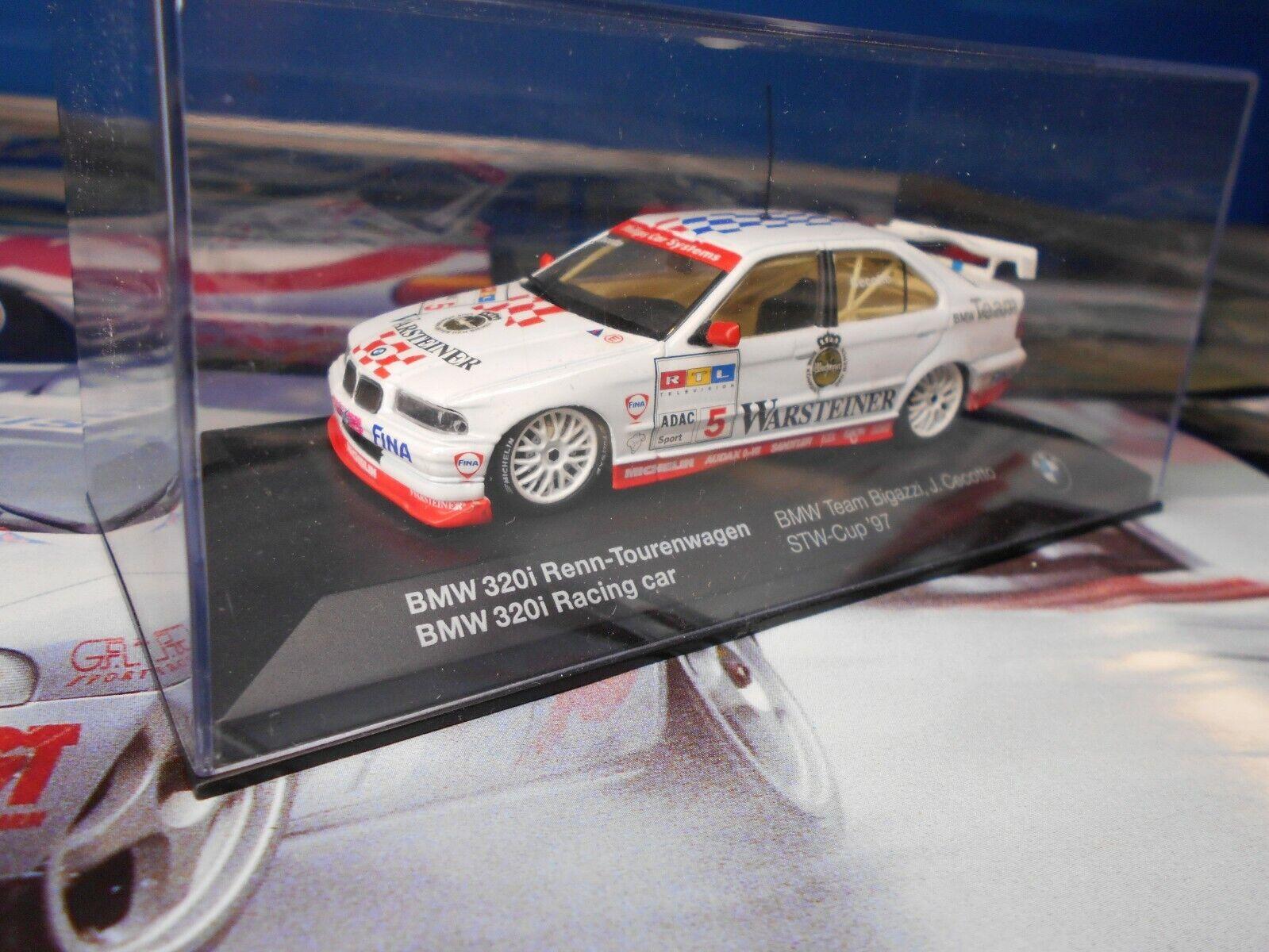 1 43 MINICHAMPS BMW 320 I STW 97 DEALER BOX TOURISME TOURISMO