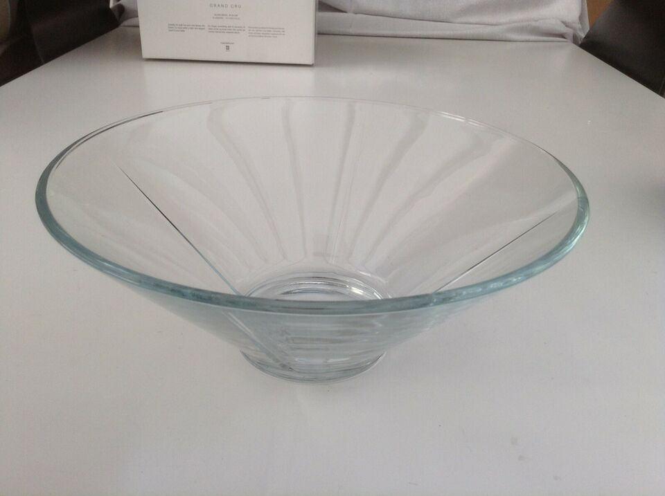 Ny stor Rosendahl glas skål