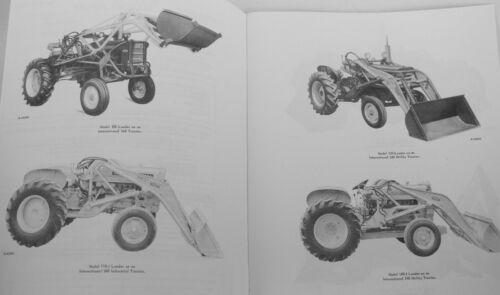 IH Wagner Front End Loaders /& Backhoe Owners Manual for International Farmall