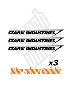opcional Coche Pegatina Calcomanía Vinilo de Stark Industries Ventana Dc Marvel Hombre de Hierro