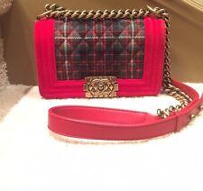 5c0234930bee CHANEL Paris Edinburgh Highlander Large Quilted Messenger Bag Orig ...