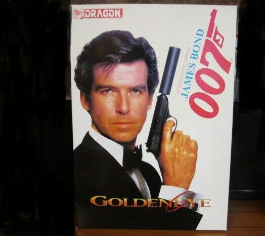 007 James Bond Pierce Brosnan. oroeneye 1 9 Figura De Acción