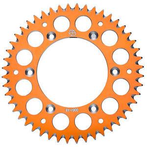Primary-Drive-Rear-Aluminum-Sprocket-38-Tooth-Orange-KTM-50-SX-MINI-2014-2017