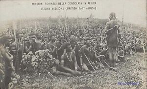 KENYA ITALIAN MISSIONS BRITISH EAST AFRICA AMONG THE AKIKOTU REAL REAL PHOTO