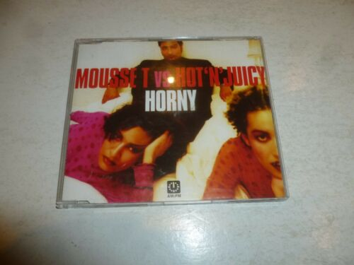 1 of 1 - MOUSSE T VS HOT 'N' JUICY - Horny - 1998 UK 6-mix CD single