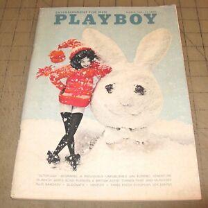 PLAYBOY-Mar-1966-GD-Condition-Magazine-Priscilla-Wright-PMOTM-w-Vargas-Art