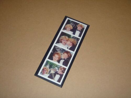 50 Magnetic Photo Booth Frames made in USA white//black Full Magnet free ship