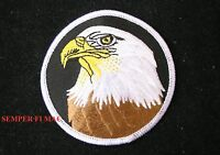 USA BALD EAGLE PATCH PATRIOTIC! US ARMY NAVY AIR FORCE MARINES COAST GUARD WOW