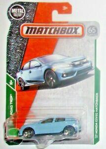 Matchbox MBX Road Trip /'17 HONDA CIVIC HATCHBACK 6//35 light blue