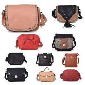 352ecfc5ab New Womens Designer Style Cross Body Bag Ladies Bag Girls Light ...