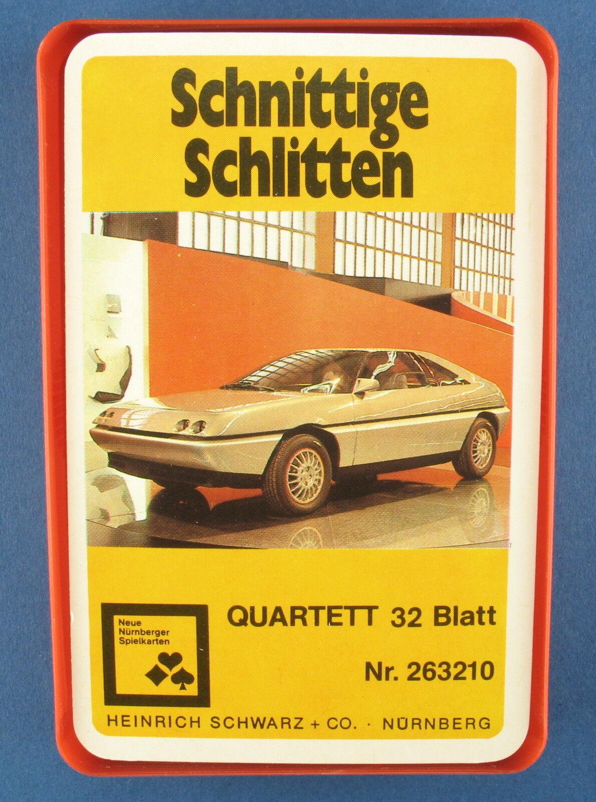 Quatuor-Fers luge-NUREMBERG Nº 263210-Auto-Heinrich Noir