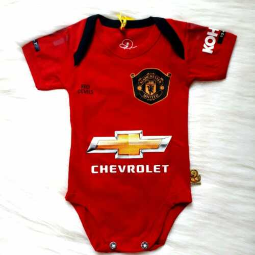 Manchester United FC Baby Jumper 100/% Cotton 19-20 New Season