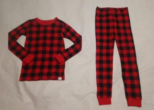 NWT Baby Gap Red Buffalo Plaid Christmas Holiday Pajamas 2PC Toddler Boy Girl