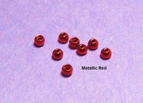 100 TUNGSTEN beads..11 colors//5 sizes available/>SEE CHART/>5 packs of 20 beads