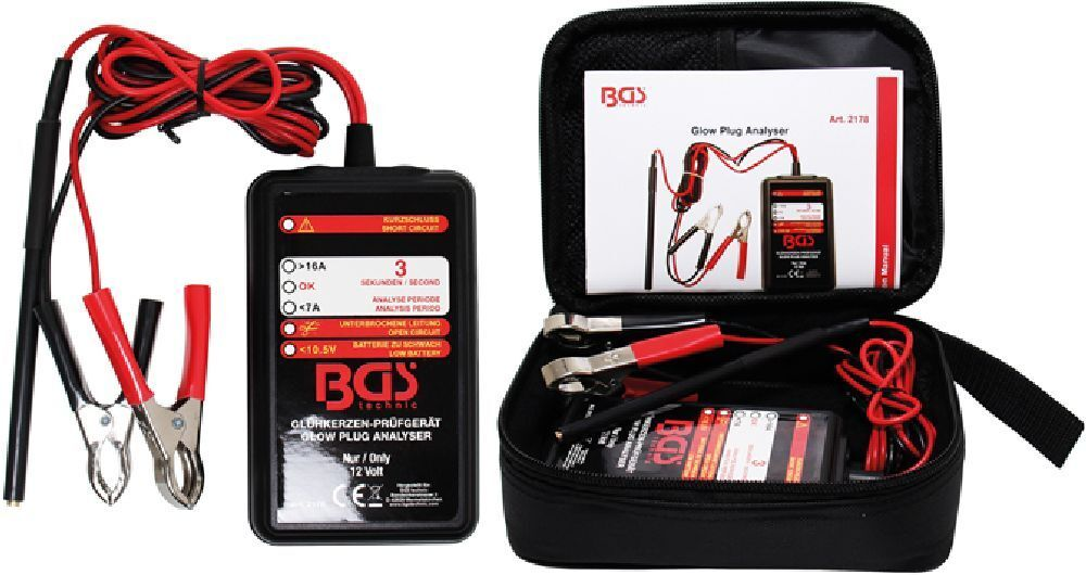BGS 2178 Glühkerzen-Prüfgerät, 12Volt | | | Ausgezeichnet  | Spaß  | Sorgfältig ausgewählte Materialien  | Deutsche Outlets  a517be