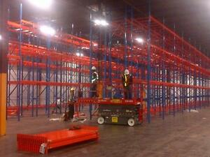 Industrial Shelving - Pallet Racking - Guardrail - Mezzanine - Cantilever - Wire Partition London Ontario Preview