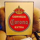 Corona beer tin metal sign