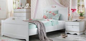 Kinderzimmer ideen für mädchen prinzessin  Kinderbett Weiß Jugendbett Mädchen Prinzessin Kinderzimmer 120x200 ...